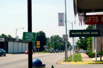 Baxter Springs, Texas